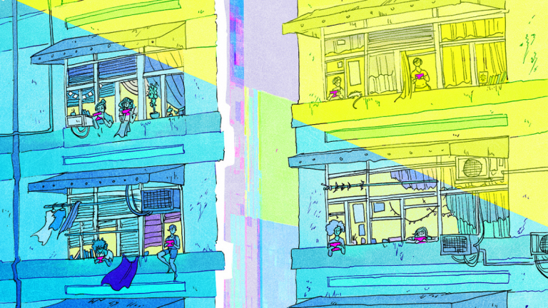 Work by sequential art student Julia Hagerty