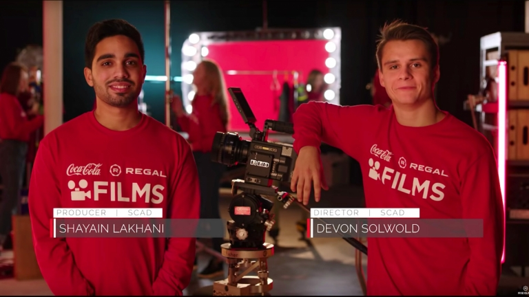 Film and television students win Coca-Cola and Regal Films Competition