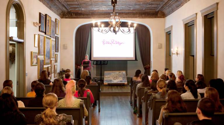 Lily Pulitzer Lecture