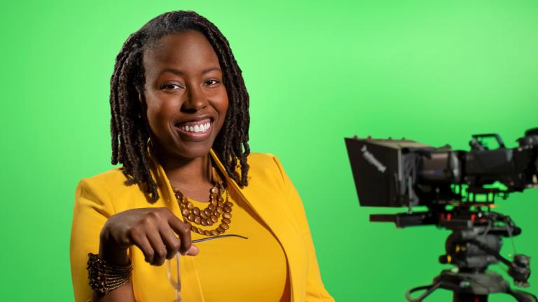 Alumni Atelier ambassador Kamaria Connell at SCAD Atlanta
