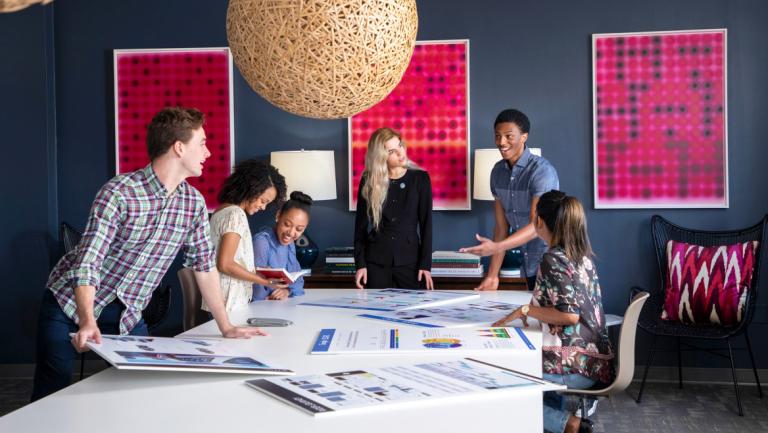 Students collaborate via SCADpro