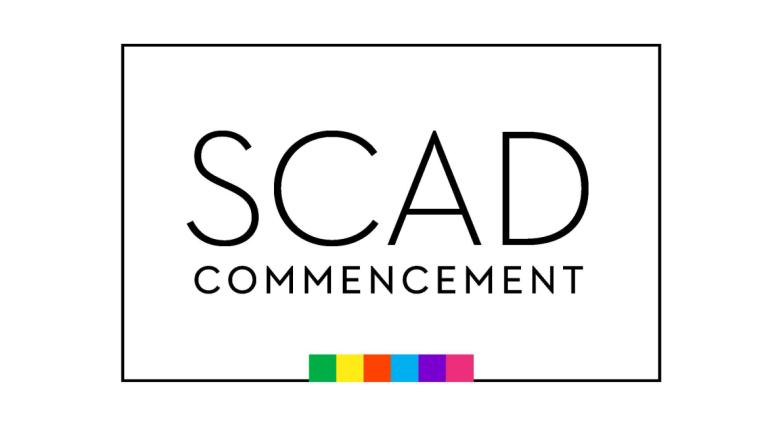 SCAD 2021 commencement logo