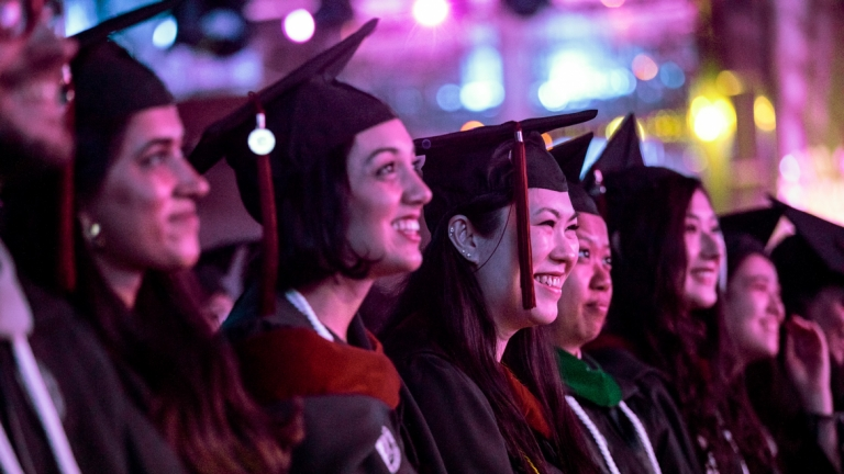 SCAD Hong Kong graduates at commencement