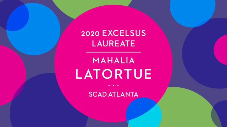 Play video of SCAD Atlanta excelsus laureate Mahalia Latortue