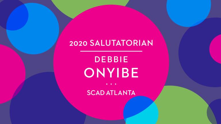 Play video of SCAD Atlanta Salutatorian Debbie Onyibe