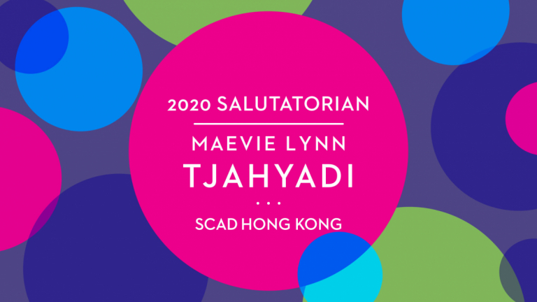 Play video of Hong Kong salutatorian Maevie Lynn Tjahyadi