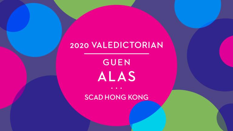 Play video of scad hong kong valedictorian Guen Alas