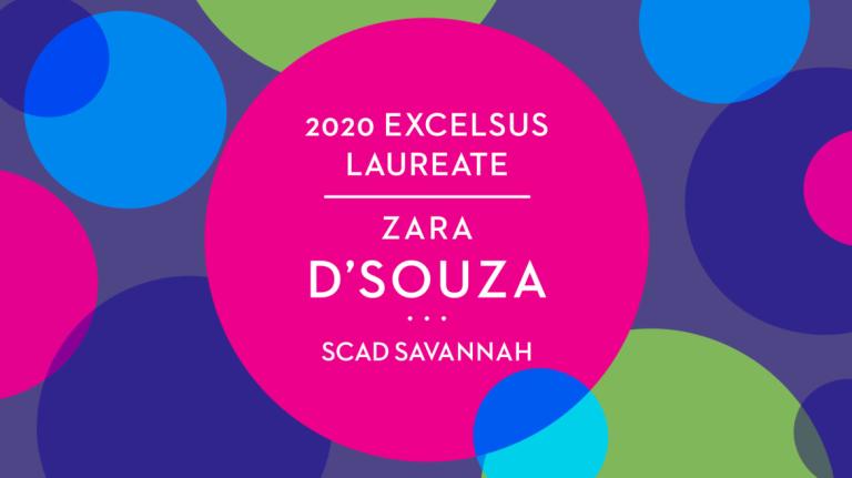 Play video of excelsus laureate Zara D'Souza