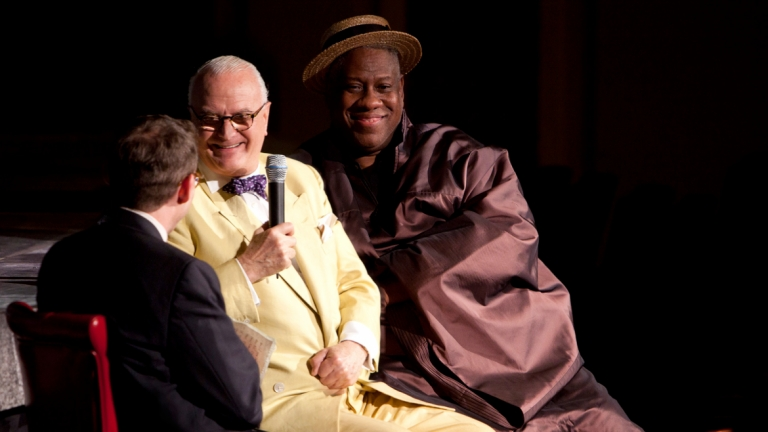 Conversation with Manolo Blahnik and Andre Leon Talley
