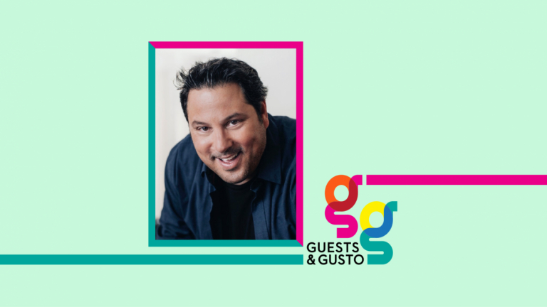 Guests and Gusto speaker Greg Grunberg