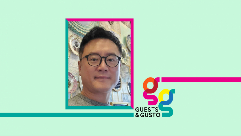 Guests and Gusto speaker James Lee