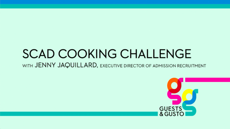 Guests and Gusto cooking challenge graphic