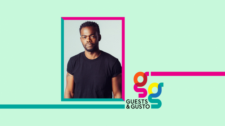 Guests and Gusto speaker William Jackson Harper