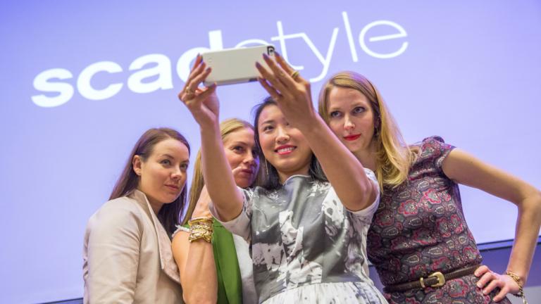 SCADstyle 2015 panel social selfie
