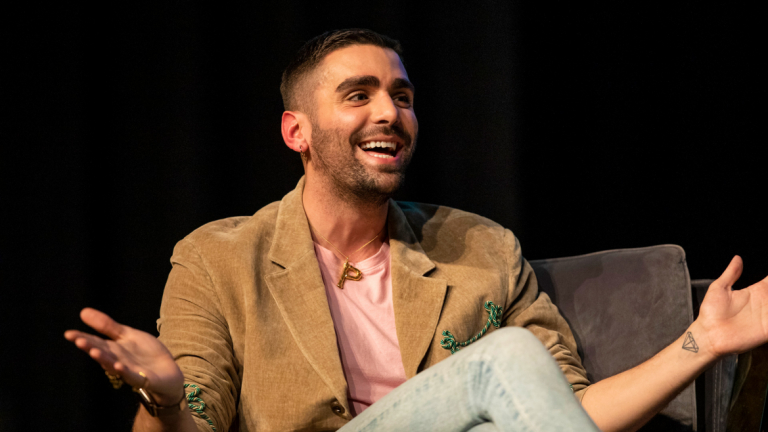 Phillip Picardi at the 2019 SCADstyle