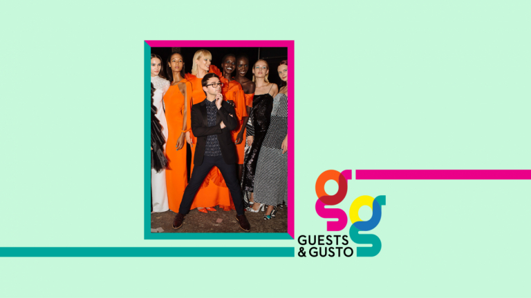 Guests and Gusto Christian Siriano
