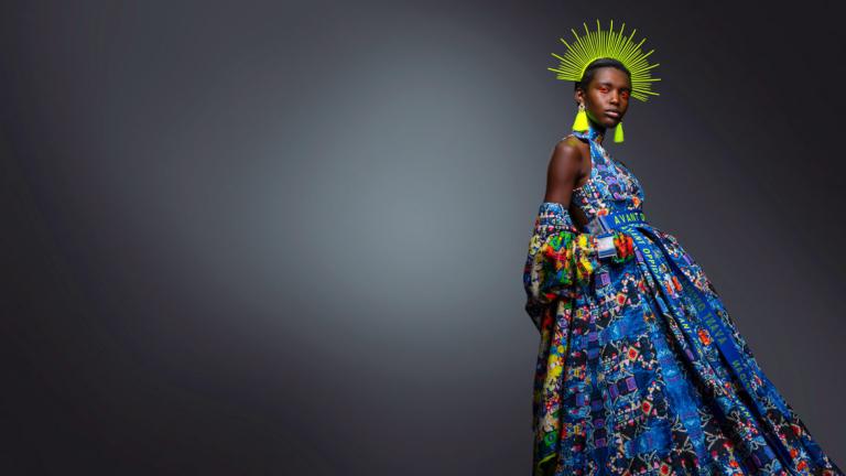 Lady Liberty at Atlanta Fashion Show 2019
