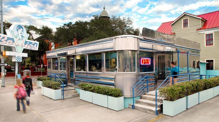 Bobbies Diner, SCAD Savannah