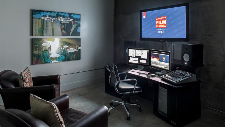 Savannah Film Studio Editing Suite