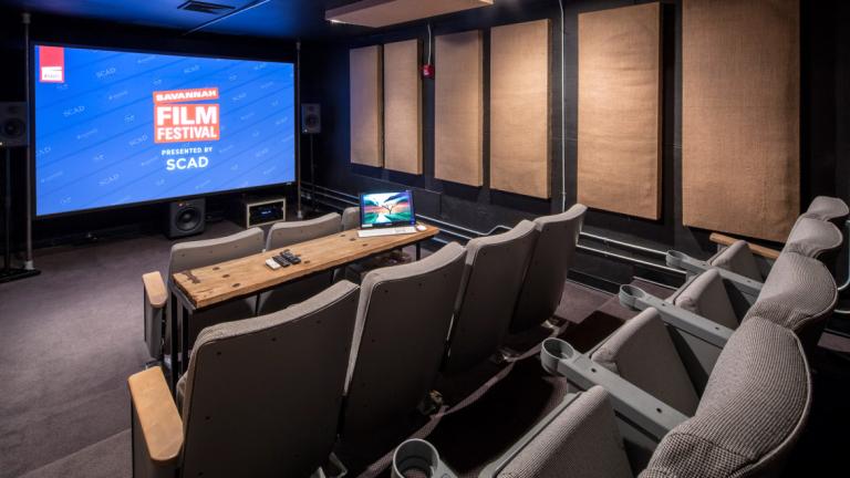 Savannah Film Studio Screening Room