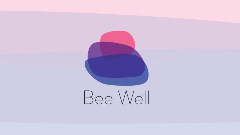 Bee Well identity