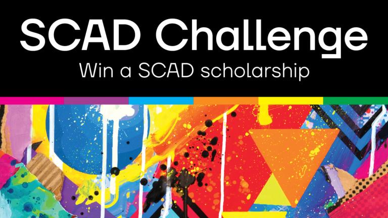 SCAD Challenge scholarship contest