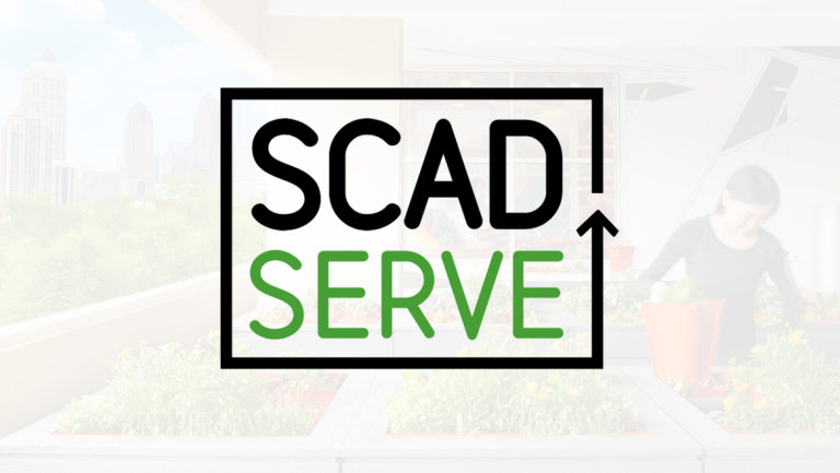 SCAD SERVE logo