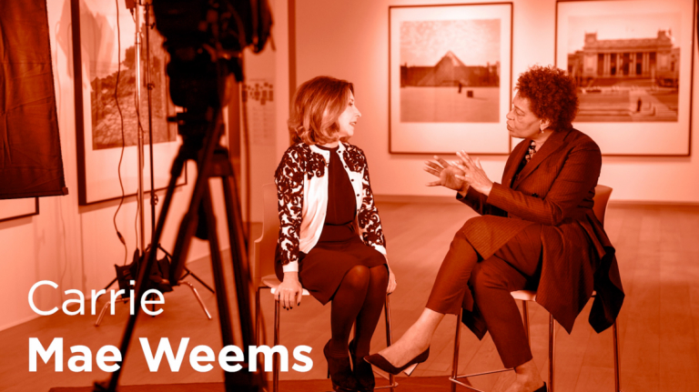"Play ""On Creativity"" with Carrie Mae Weems"