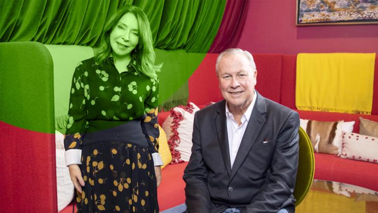 Play video of Paula Wallace and Robert Wilson