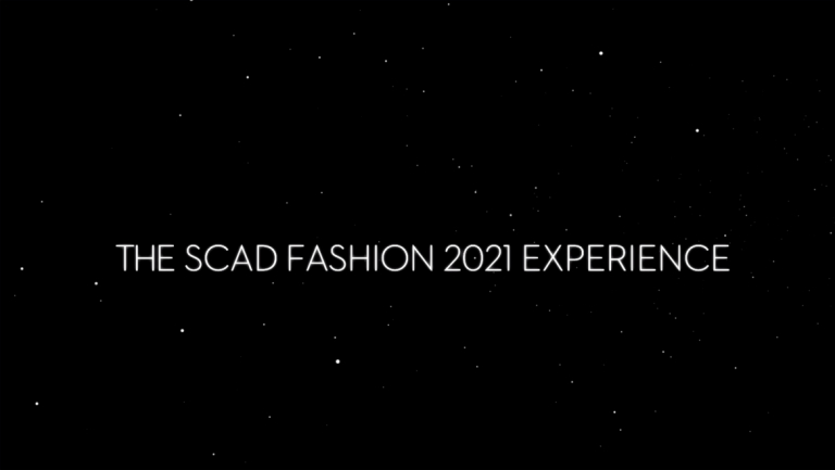 """Play """"SCAD Fashion 2021 Experience"""" video"""