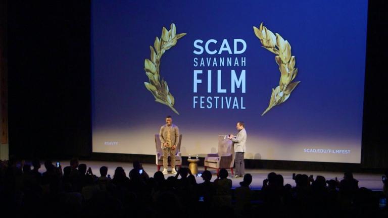 Play video of 'Detroit' star John Boyega at SCAD Savannah Film Festival
