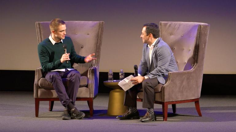 Play video 'Good Time' star Robert Pattinson at SCAD Savannah Film Festival