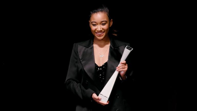Play video of SCAD Savannah Film Festival honoree Amandla Stenberg