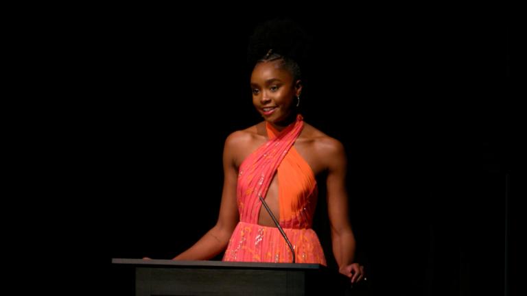 Play video of Kiki Layne at SCAD Savannah Film Festival