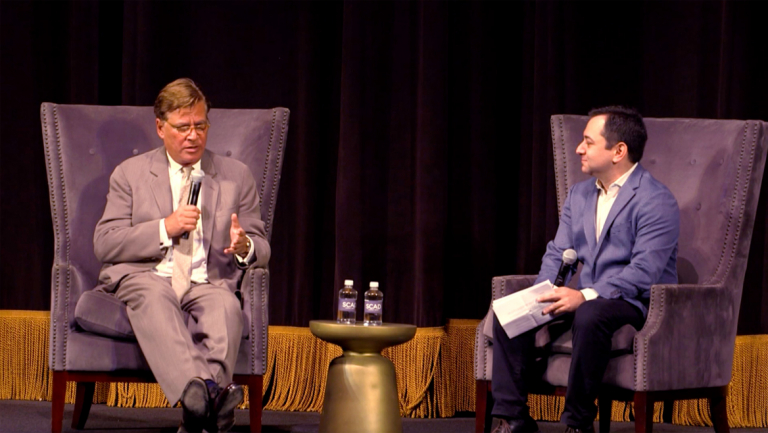 Play video of SCAD Savannah Film Festival Q&A with Aaron Sorkin