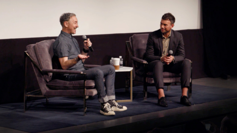 Play video of Alan Cumming at SCAD Savannah Film Festival
