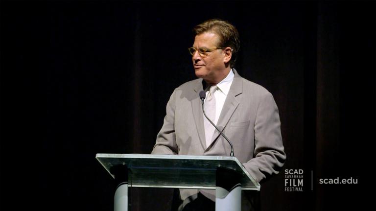 Play video of SCAD Savannah Film Festival honoree Aaron Sorkin