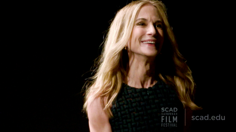 Play video of SCAD Savannah Film Festival honoree Holly Hunter