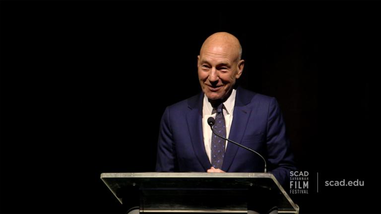 Play SCAD Savannah Film Festival honoree Sir Patrick Stewart video