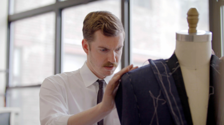 Play video of SCAD fashion alumna Thomas Finney