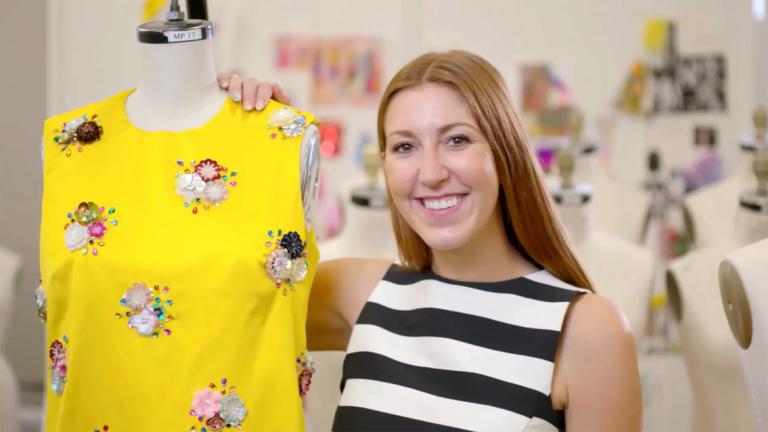 Play fashion grad Caroline McCoy video