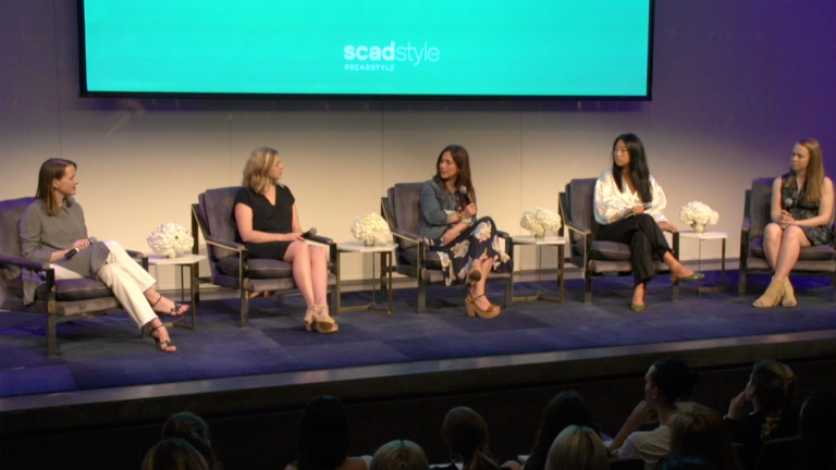 Play video of SCADstyle alumnae entrepreneurs panel