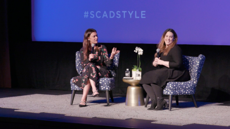 Play video of SCADstyle conversation with Mary Katrantzou