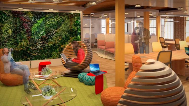SCAD Interior Design Student Work