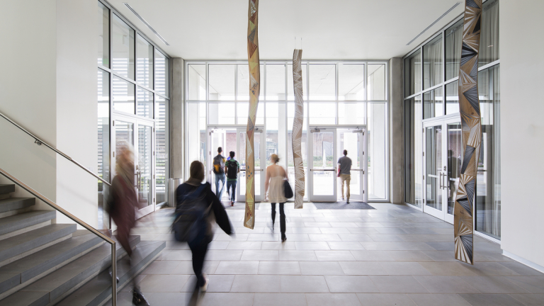 "Jason Middlebrook exhibition, ""Submerged,"" SCAD Museum of Art lobby, Feb. 18-Sept. 28, 2014."