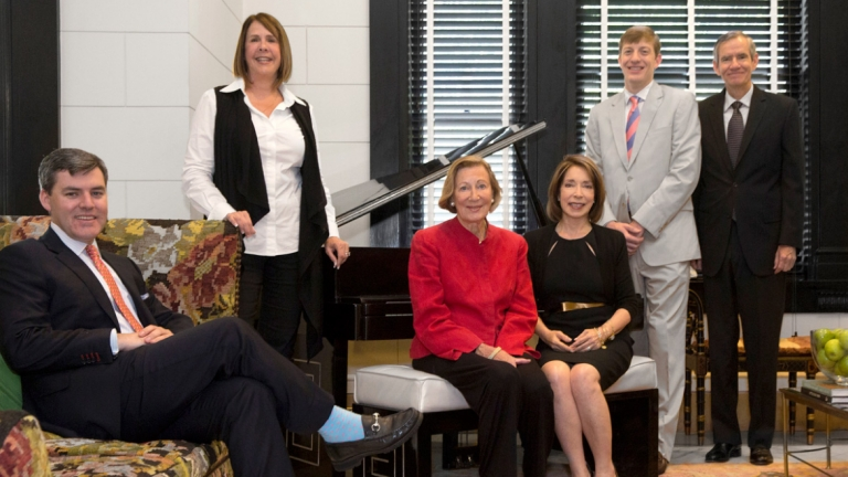 SCAD Board of Trustees group portrait