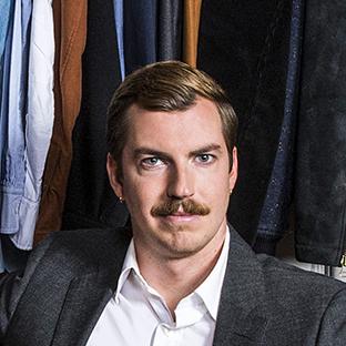 Fashion alumnus Thomas Finney