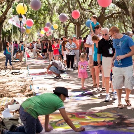 87331Sidewalk Arts Festival