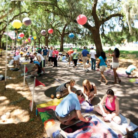 87331SCAD Sidewalk Arts Festival in Savannah