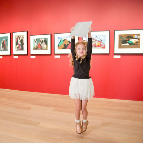Child at SCAD Museum of Art